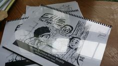 1st drafts of Ellis and The Magic Mirror from May 2015.