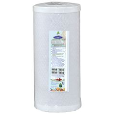 Coconut Based Carbon Block Filter Cartridge x Easy Install, Filters, Coconut, How To Remove, Free, Crystals, Crystal, Crystals Minerals