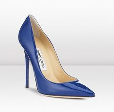 Jimmy Choo blue pumps. From Cruise 2012 collection. Love. #jimmychoowedding