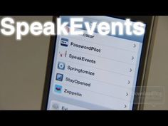 'SpeakEvents' makes boring push notifications come alive with voice