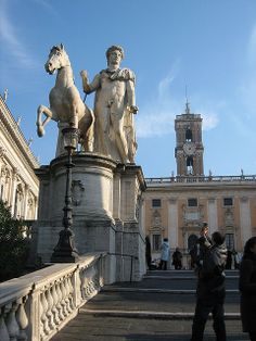 Capitoline Hill. Where we had opening ceremonies for marathon worlds