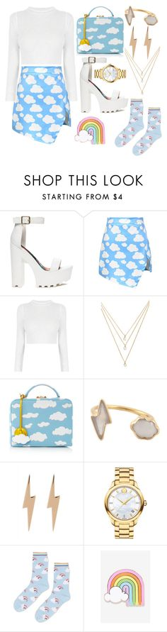 """""""On cloud 9"""" by walkeralexzandreia ❤ liked on Polyvore featuring Chicnova Fashion, Forever 21, Mark Cross, Marie Hélène de Taillac, Edge Only, Movado, Topshop and Big Bud Press"""