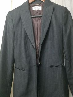 """Blue Satin Rubber lined Trouser Suit check sizing 58/"""" chest Sale"""