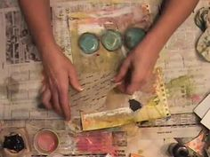 Watch the Process: SOMETIMES Journal Page. Video by Roben-Marie Smith.