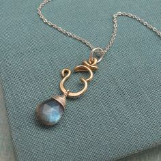 Third Eye Chakra Necklace with Labradorite