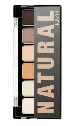 NYX The Natural Shadow Palette for Spring 2013 @Katie Campuzano buy this when u see it at ultra.
