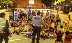En medio de jornadas recreativas socializamos el Codigo Nacional de Policia y Convivencia