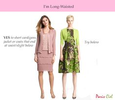 Tips & Tricks to  Dressing Long-Waisted Body Type