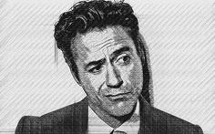 Robert Downey Jr. drawn by Khaled