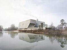Kehrrichtverbrennungsanlage KEBAG, Zuchwil, Switzerland by Penzel Architekten. *1st* prize Visualizations: nightnurse images