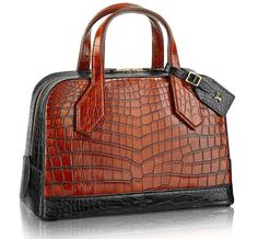 Dora PM Crocodile Bag From Louis Vuitton With A Hefty $54,500 Price Tag