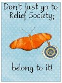 The Willow Wood Relief Society: The Happiness Project Activity