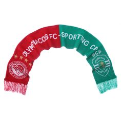 17-18 UCL Olympiacos vs Spoting CP Scarf