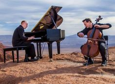 Jon Schmidt and Steven Sharp Nelson are two of the five Piano Guys.