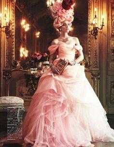 Ymre Stiekema in Oscar de la Renta, Fall 2012 photographed by Giampaolo Sgura for Vogue Japan, October 2012  @OscarPRGirl