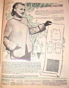 « Petit Echo De La Mode » du 31 Août 1952 Nous allons plonger au cœur des années 50… Vous y trouverez : Des recettes de cuisine Le patron à retracer d'un ravissant chemisier pour femme De la déco Les explications pour réaliser une superbe robe au tricot Un cours de couture pour l'assemblage de la manche chemisier De la broderie Des astuces beauté…