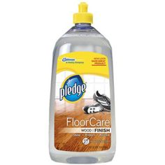 I'm learning all about Pledge With Future Shine Wood Floor Finish at @Influenster!