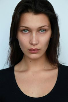 Bella Hadid News ( Bella Hadid News, Bella Gigi Hadid, Bella Hadid Style, Nude Makeup, Hair Makeup, Kendall, Model Polaroids, Model Headshots, She Walks In Beauty