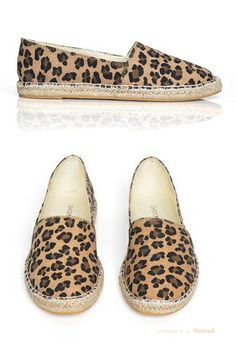 Lovely Leopard Flats, prob the only animal printed thing i've ever liked
