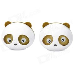 Brand: N/A; Qty: 2 piece(s); Color: White + brown; Material: ABS; Type: Solid; Power Supply: No; Function: Eliminate smell; Scent: Peach; Other Features: Put the fragrant pieces into the back of panda, then screw it; Clip the panda on the back of air outlet; Packing List: 2 x Air refresher2 x Scent pieces2 x Clips; http://j.mp/1p0ZVER