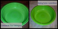Make it Yourself Dishwasher Detergent - 2 Ingredients!