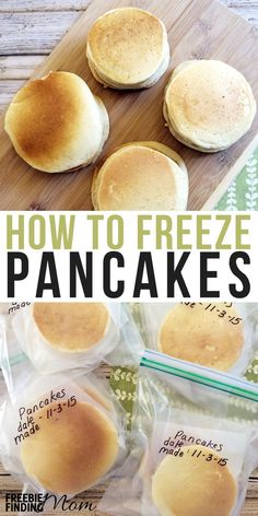 Send the family out the door with a delicious and nutritious breakfast by learning how to freeze pancakes. Go ahead and stock up your freezer, so the next time you need a quick homemade breakfast you can grab, heat and eat.