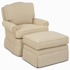 Upholstered Chair And Ottoman accent chairs and ottomans sb upholstered chair with skirt