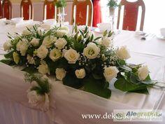 kwiaty na stół pary młodej - Szukaj w Google