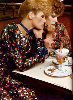 Photo by Helmut Newton for Vogue Paris, 1970.