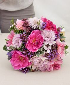 960 best pink bouquetsflower arrangements images on pinterest in flowers bridal bouquet demo by claire cowling part 1 mightylinksfo