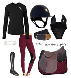 """""""Burgundy ROOTD"""" by thatequineflair ❤ liked on Polyvore featuring Parlanti and Cartier"""