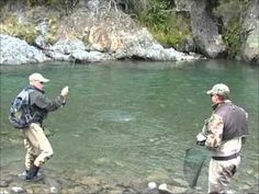 New Zealand fly fishing: Helicopter Flyfishing trip