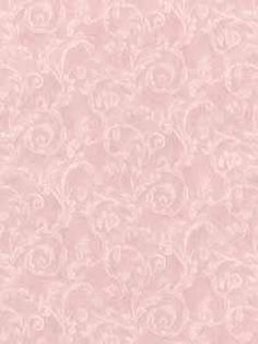 Shabby Pink Leaf Scroll Victorian wallpaper