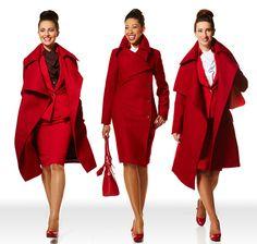 Vivienne Westwood designs for Virgin Atlantic