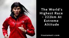 The worlds' highest running race - 222km (FULL MOVIE) Running Race, Lisa, Racing, Leather Jacket, Movie, World, Running, Studded Leather Jacket, Leather Jackets