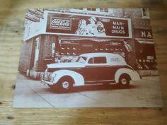COCA-COLA  11X14 PICTURE (vintage look)