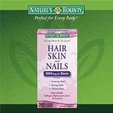 This stuff works wonders. Nature's Bounty Hair Skin and Nails 5000 mcg of Biotin per Serving - 250 Coated Tablets: Health & Personal Care Thyroid Issues, Ab Challenge, Vitamins For Skin, Best Natural Skin Care, Au Natural, Strong Nails, Hair Skin Nails, Biotin, Diet And Nutrition