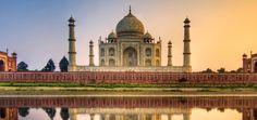 Viaje de novios a India Romántica - Taj Mahal. #India #ViajeDeNovios #LunaDeMiel