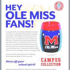 Ole Miss Scentsy Warmer $35