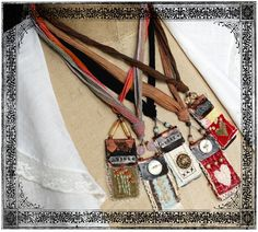 Art Quilt Pendant