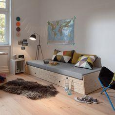 Richard Lampert Stapelbett / stackable bed sofa