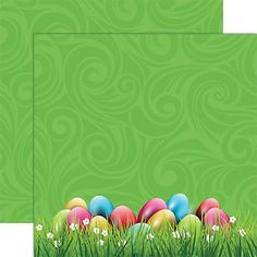 Reminisce EASTER EGG HUNT 12x12 Dbl-Sided (2) Scrapbooking Papers