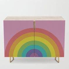 ROYGBIV Credenza retro furniture Retro Furniture, Credenza, Home Decor, Decoration Home, Room Decor, Sideboard, Credenzas, Interior Decorating
