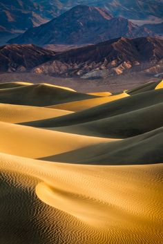 Mesquite Sand Dunes, Death Valley National Park, CA