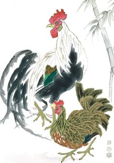 Cock and Hen(鶏)