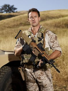 Navy Seal Brent Gleeson, that's what you call a man! Thank you for your service!