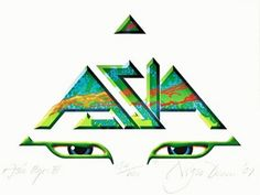 Image result for asia band logo