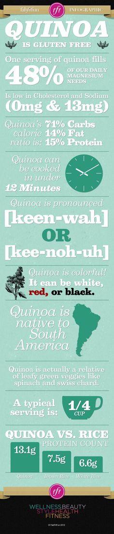 Interesting Facts About Quinoa (Infographic) - mindbodygreen.com