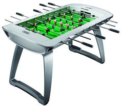 Audi's foosball table - 15 grand, OUCH!  Gorgeous table, though