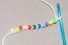 Bead Crochet Beading Instructions. I'd like to try this with very fine wire and semi precious stones.